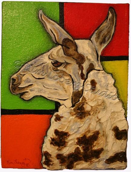 A Llama Named Piet